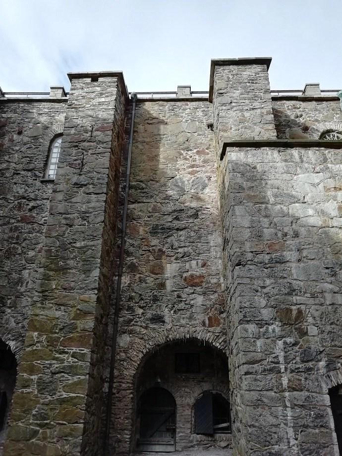 Svea y Pablo - Zona de refuerzo de la fortaleza de Carlsten