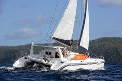 Tahina Under Sail Bequia