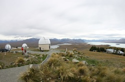 St. John Observatory near Lake Tekapo in New Zealand