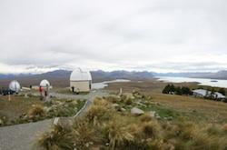 St. John Observatory near Lake Tekapo in New Zealand