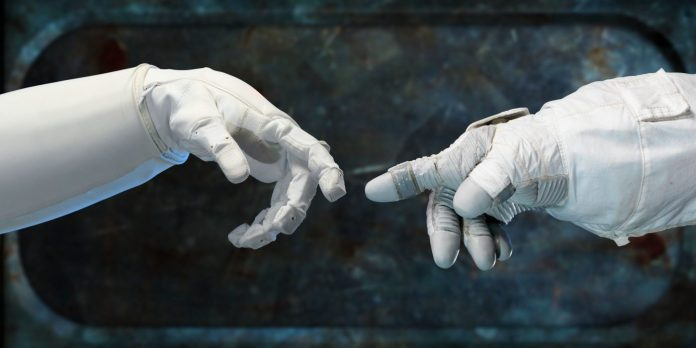 NASA-APPEL-High-Resolution-Photo-Mentor-Mentee-Learning-Wisdom-WILT-Astronaut-Taikonaut-Suit-Space-Hand-Michelangelo-Touch