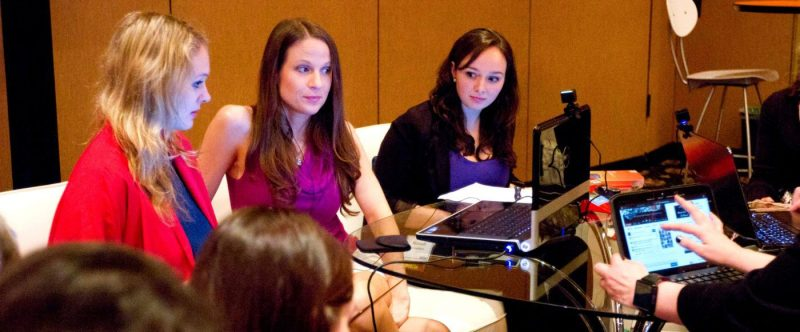 BlissDom-Microsoft-Webinar-Behind-the-scenes-education-marketing-engagement-group-of-women-it
