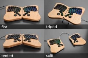 Keyboardio Model 01 Setup Options
