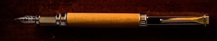 Kauri Wood Fountain Pen crop