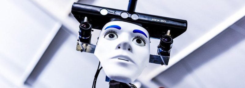 Robot Face Xbox Kinect DIY System Services Replacing Humans Work Jobs Stealing Preperation Be Prepared GUide Help