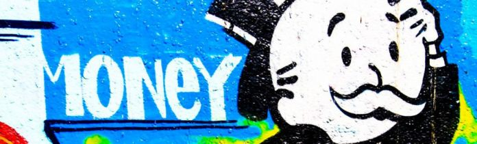 ToGa-Wanderings-Monopoly-man-blue-money-graffiti-4-types-of-spending-concept-mechanics-investment-terms-terminology_crop