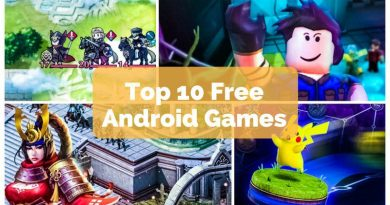 Top 10 Free Android Games in 2017