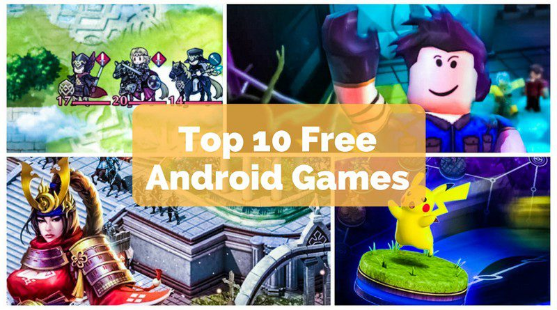 Top 10 Free Android Games 2017 Text