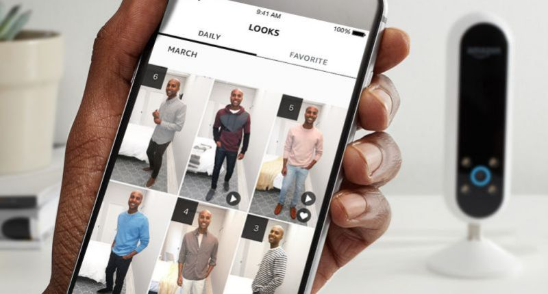 Echo Look App Alexa Clothin Ordering Style Check Looks Man Model Male Standing Posing Crop