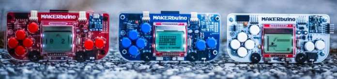 MAKERbuino Different Models Versions Colors Parts