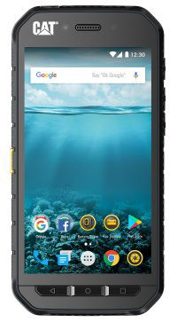 Cat S41 Smartphone Android Rugged Heavy Duty Resistant Water Dust Drop Protection Product Front Photo Shot