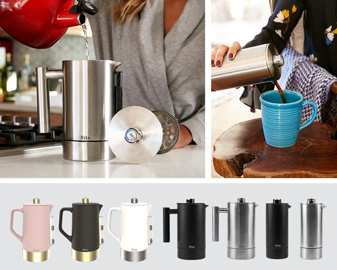 Rite Press How to make french press coffee ceramic metal versions prices
