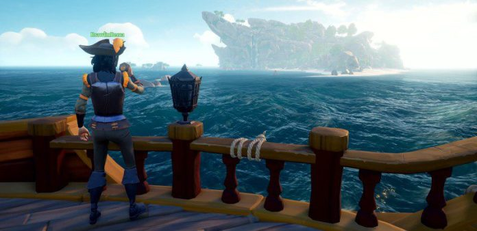 Sea of Thieves Review Exploring Open Female Pirate Crop