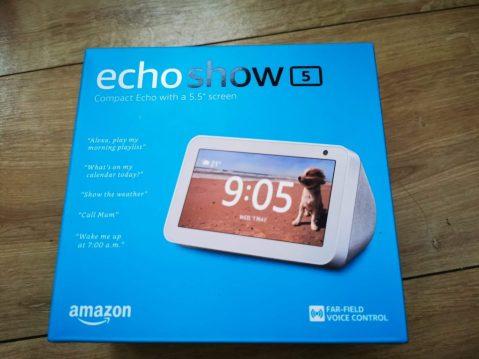 echo show 5 box