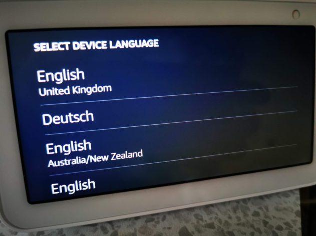 echo show 5 languages