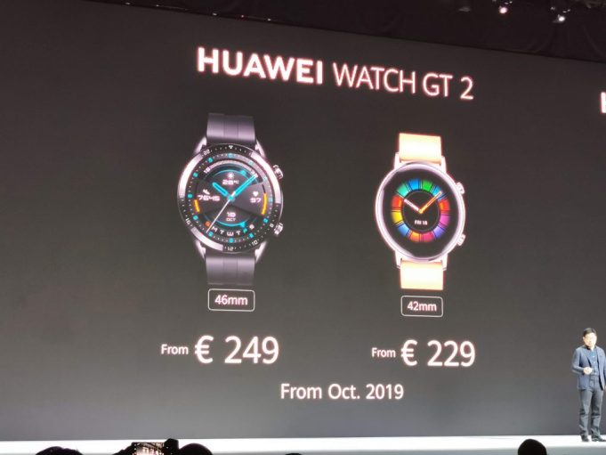 Welcome to the Huawei Watch GT 2 with up two weeks battery life 6