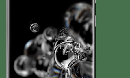 Samsung Galaxy S20 ultra 5G cosmic grey front