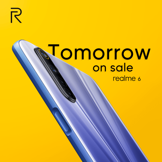 Realme 6 available in the UK from 9th April from £219 5