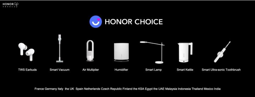 HONOR Smart Life announcement from MagicBook Pro to TV's 2