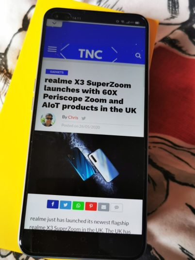 Review of the realme X3 Superzoom with 60x Zoooom 44