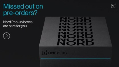 OnePlus Nord pre-orders through the OnePlus online Pop-up 1