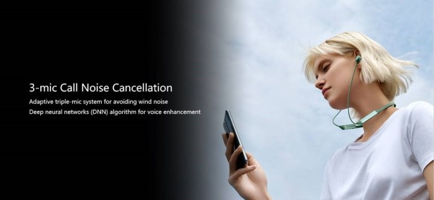 Huawei FreeLace Pro call noise cancellation