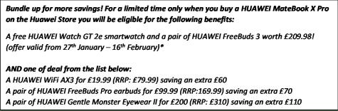 Huawei Matebook X Pro 2020 i7 16G1TB