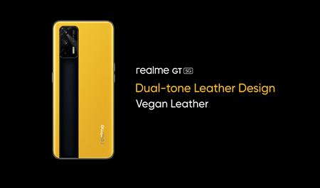 realme gt 5g leather design