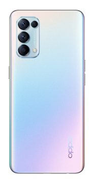 OPPO Find X3 Lite Galactic Silver Back