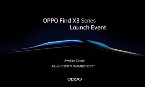 Oppo Find X3 series invite