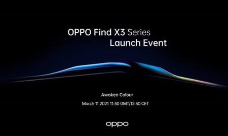 Oppo Find X3 series invite