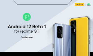 realme gt android 12 beta 1