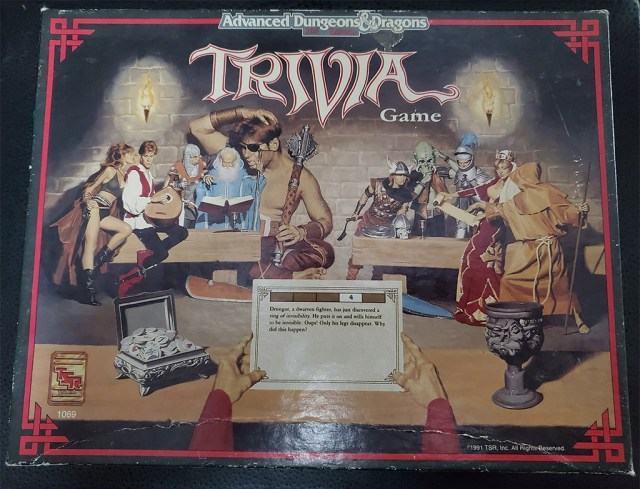 AD&D Trivia Game