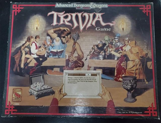 AD&D Trivia Game