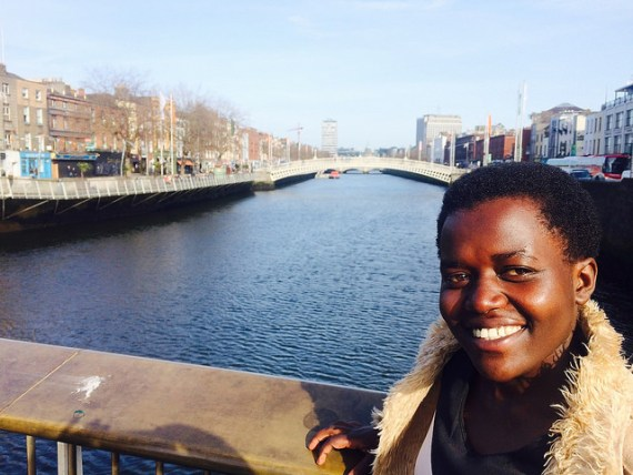 Rwandan girl on Trócaire box says thank you to people of Cork