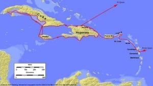 Christopher Columbus Second Voyage