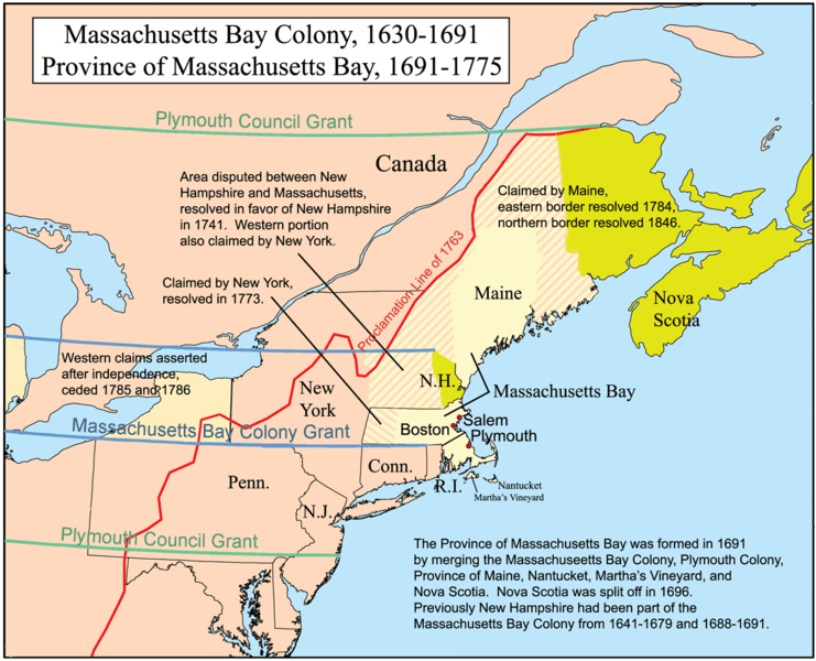 the development of massachusetts and other new england colonies The colonies: 1690-1715 - england: no in massachusetts, the animosity between the puritan leaders and their a memorial on the present deplorable state of new.