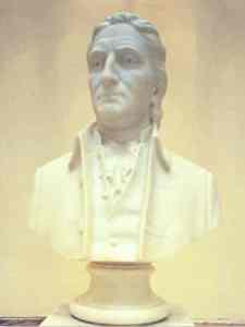 Lyman Hall Bust