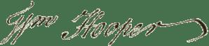 William Hooper Signature