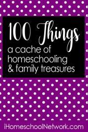 iHomeschool Network 100 things link up!