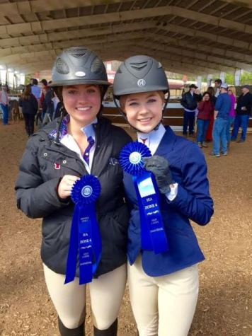Equestrian team rides into victory