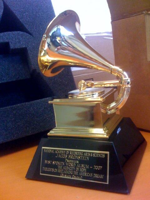 A+Grammy+Award+awarded+in+2007.