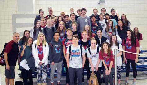 Lambert swim and dive teams take 2nd and 3rd place at state