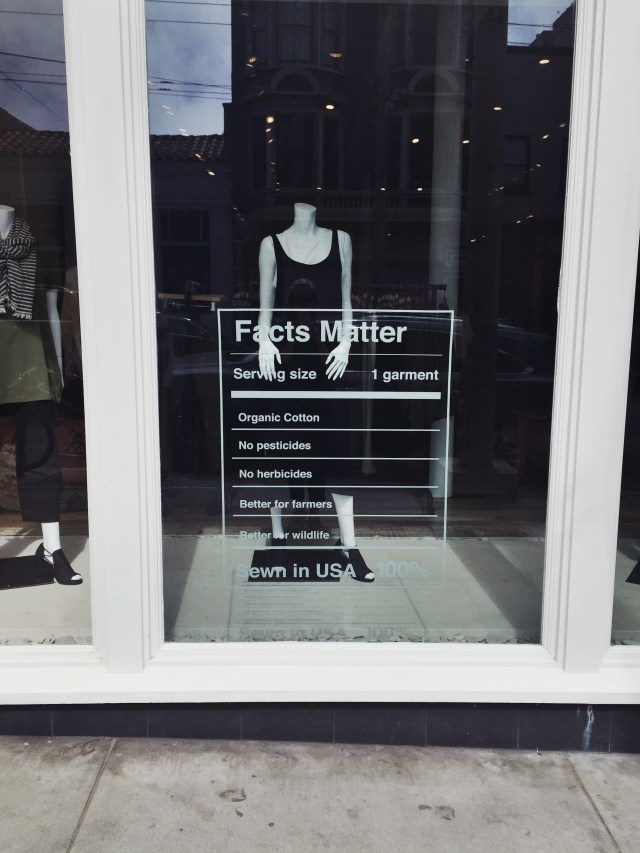 Eco Fashion Shopping: Eileen Fisher, San Francisco