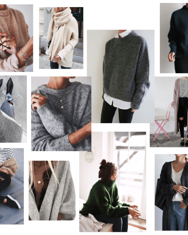Knit inspiration for your fall wardrobe