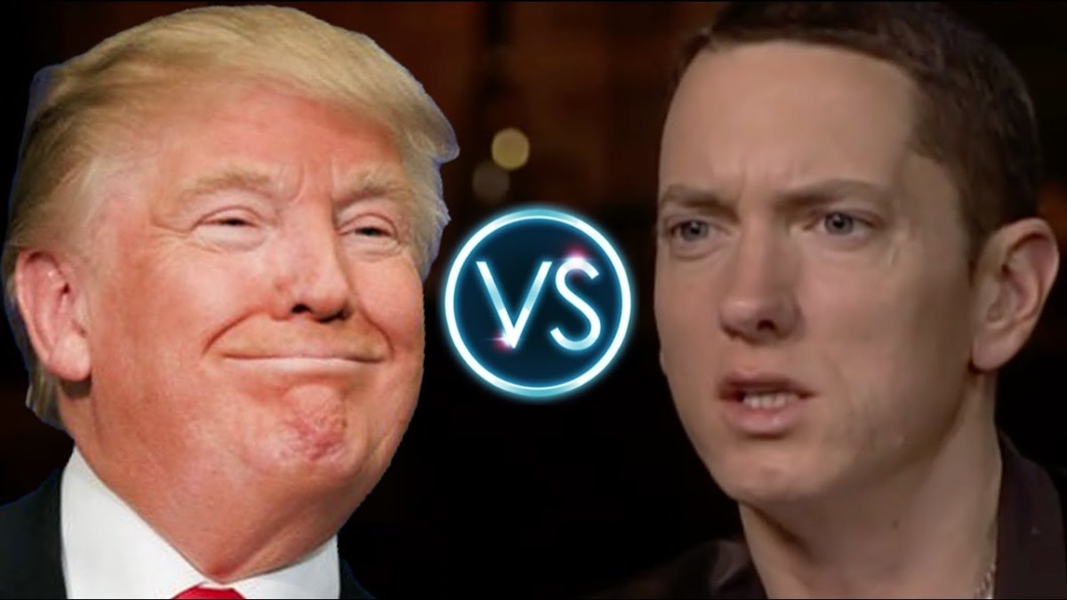 Eminem Triggered by Trump 😂