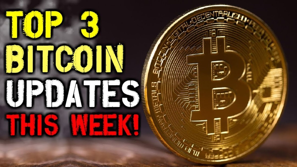 Cryptocurrency Weekly Wrap Up - Top 3 Bitcoin Updates You Should Know About THIS WEEK!