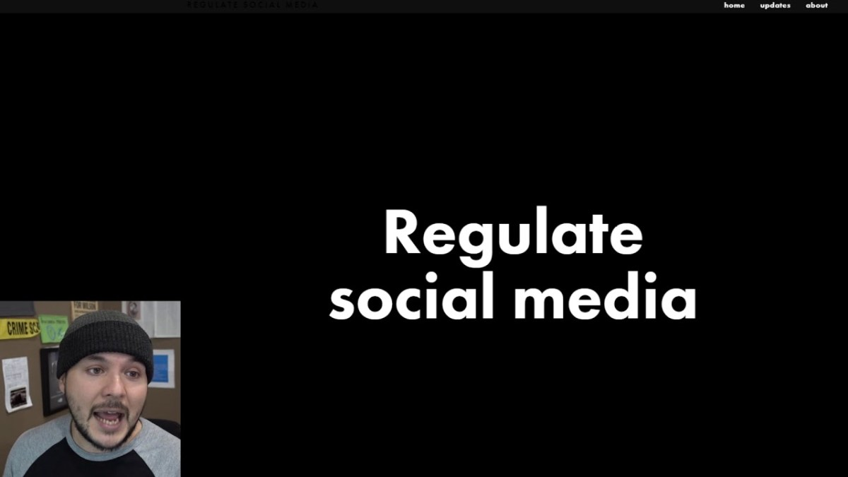 Social Media Regulation Is Coming, NOTHING Can Stop it