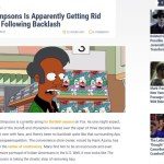 Simpsons Has Caved To Social Justice Outrage Over Apu