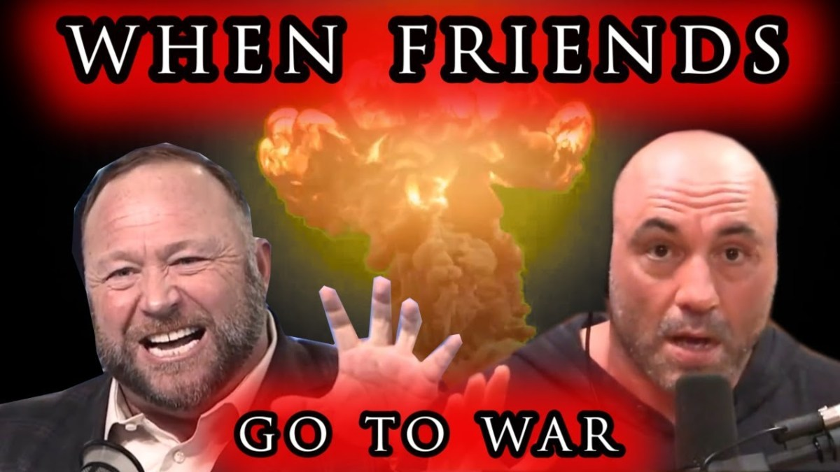 Joe Rogan Versus Alex Jones Part II - When Friends Go To War